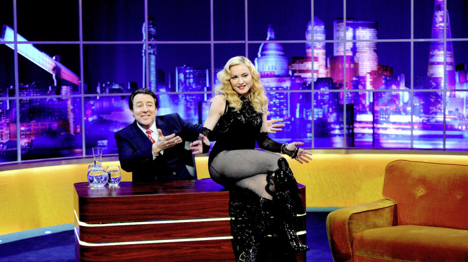 'The Jonathan Ross Show – Madonna Special' TV Programme, London, Britain. – 14 Mar 2015