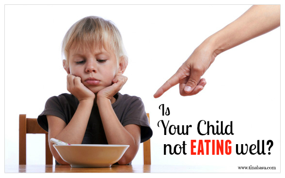 child catching up on lost growth, is your child not eating well