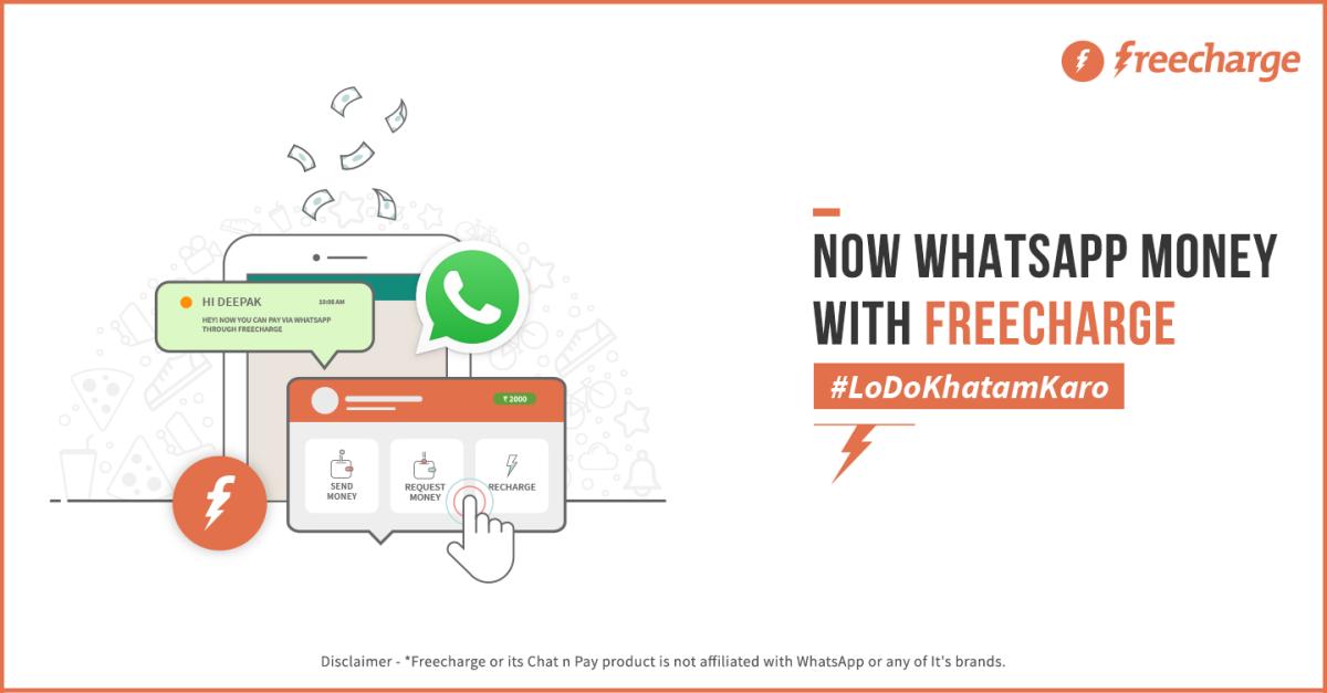 freecharge-whatsapp-money