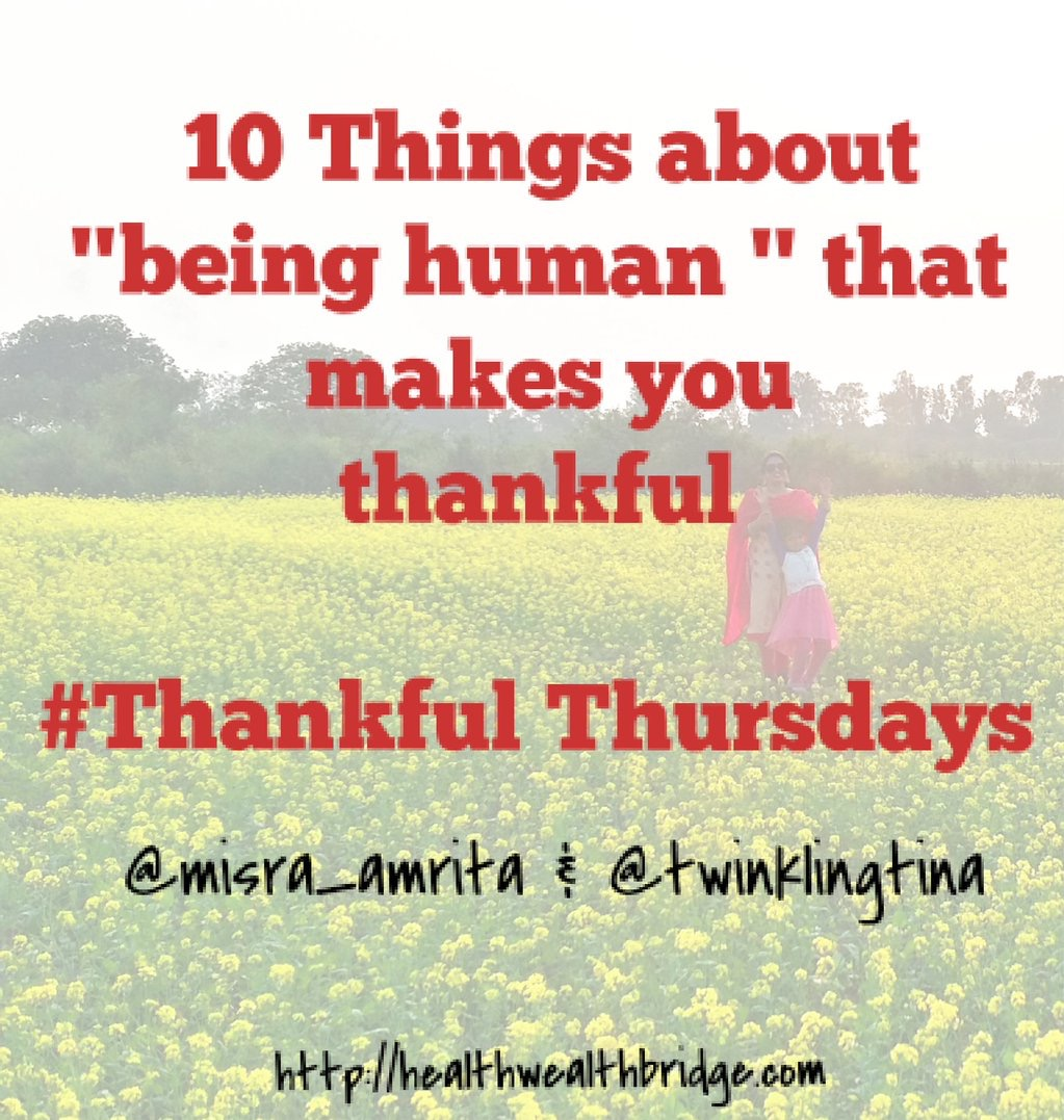 Thankful human qualities to be thankful of