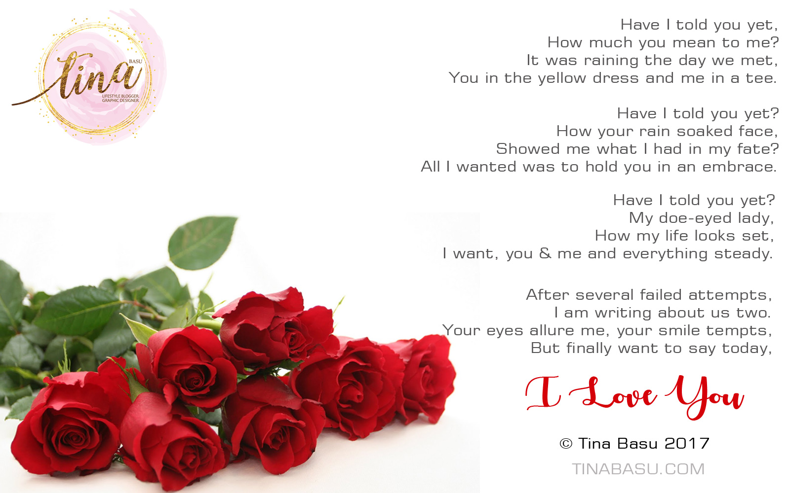 A love poem for her for this valentines day