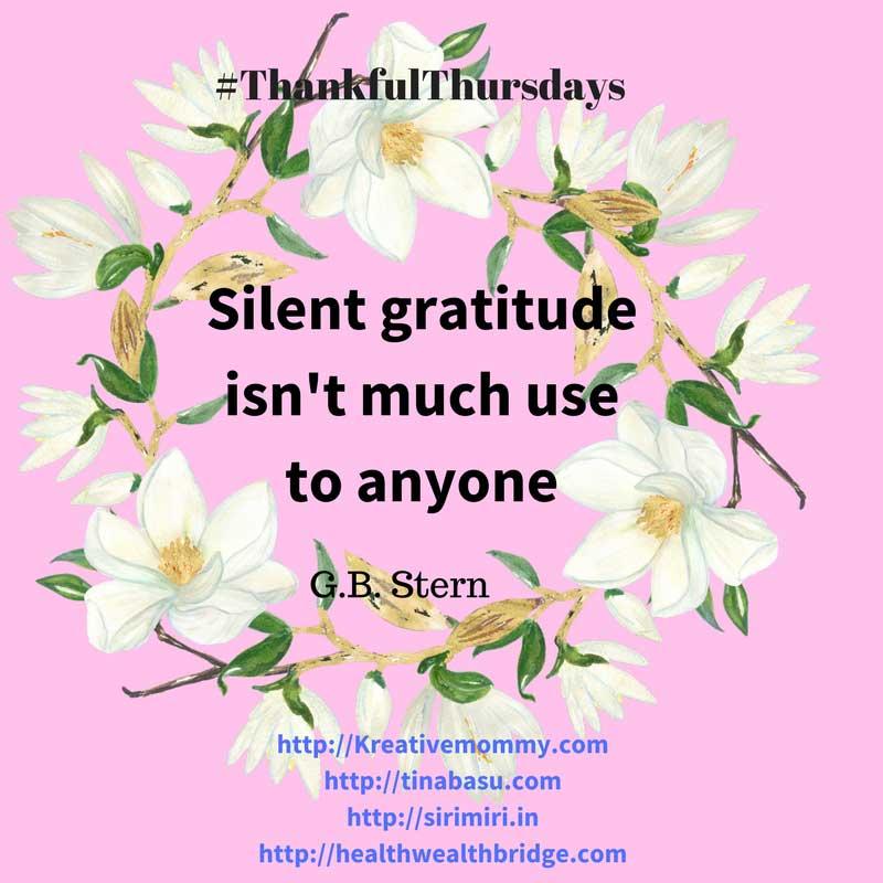 ThankfulThursdays