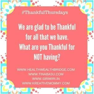 thankful thursdays prompt