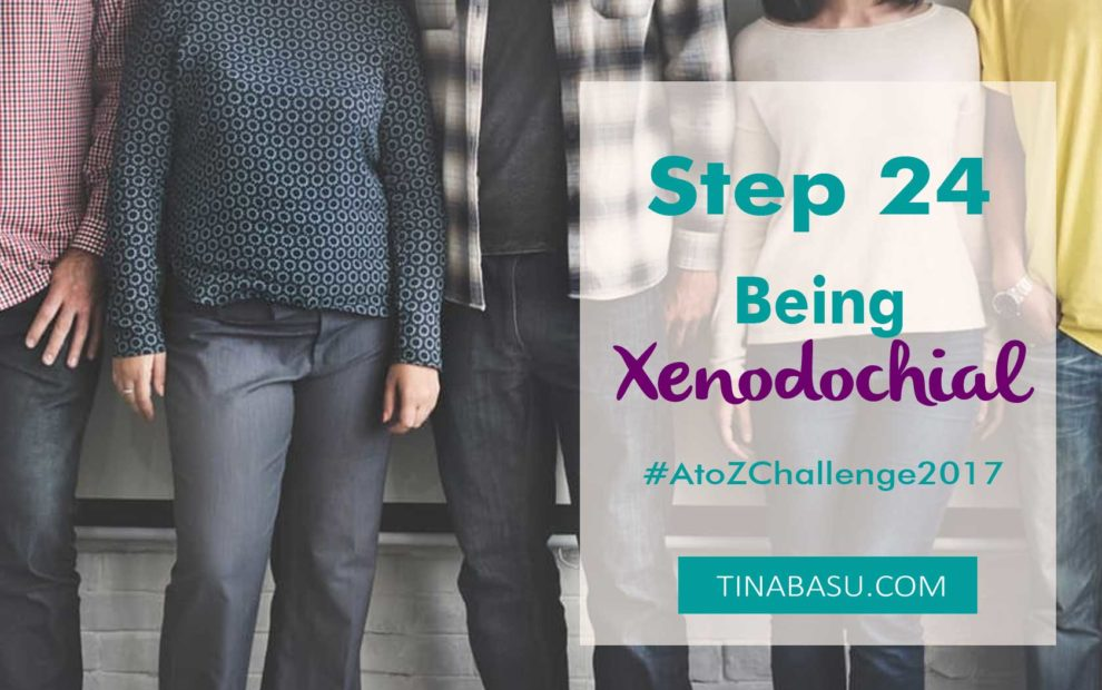 being xenodochial