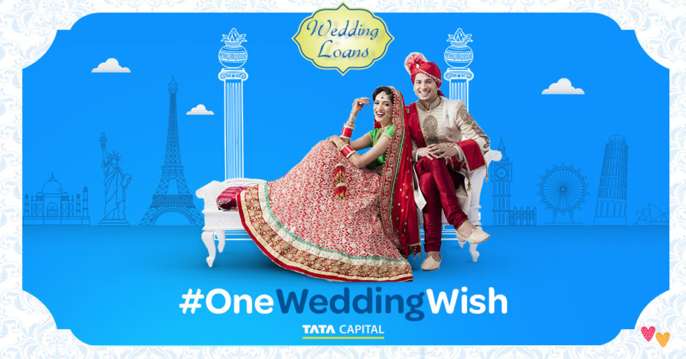 one wedding wish tata capital wedding loan