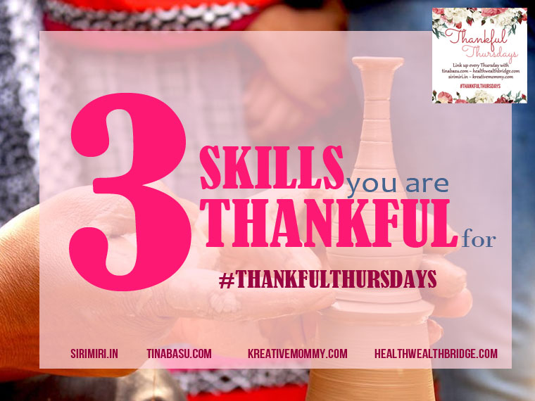 skills to be thankful for