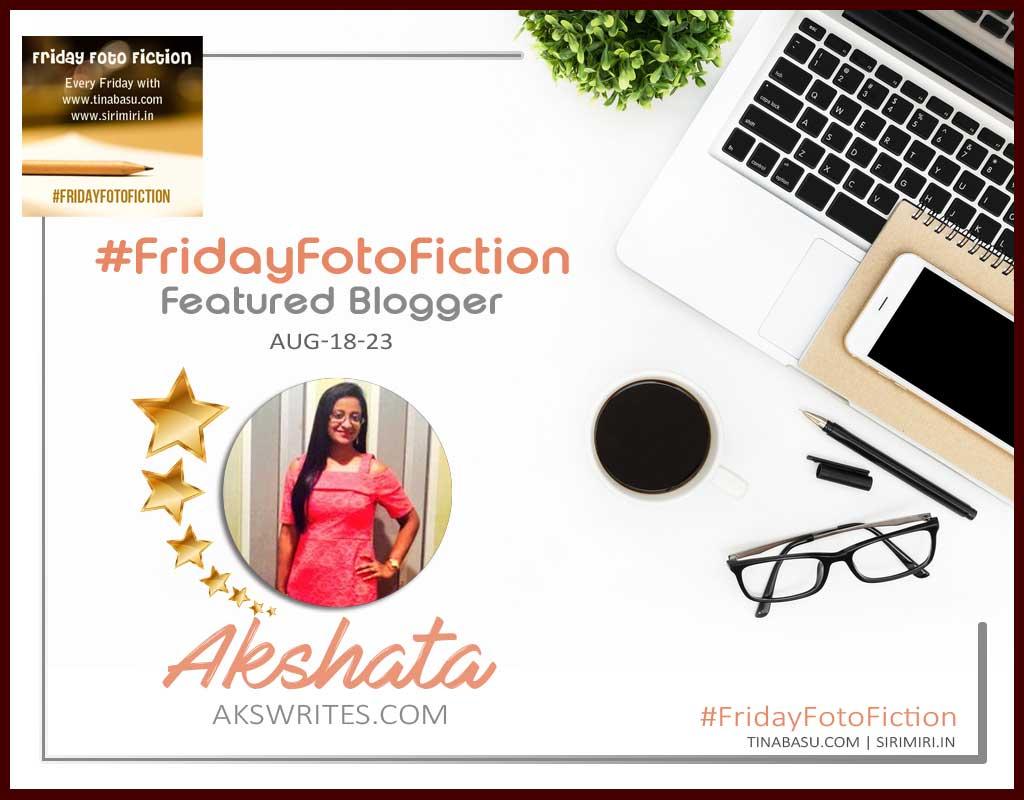 Friday Foto Fiction Certificate Akshata
