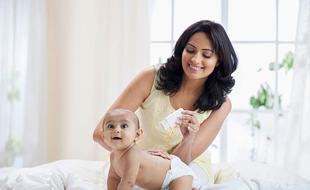 baby care products baby powder