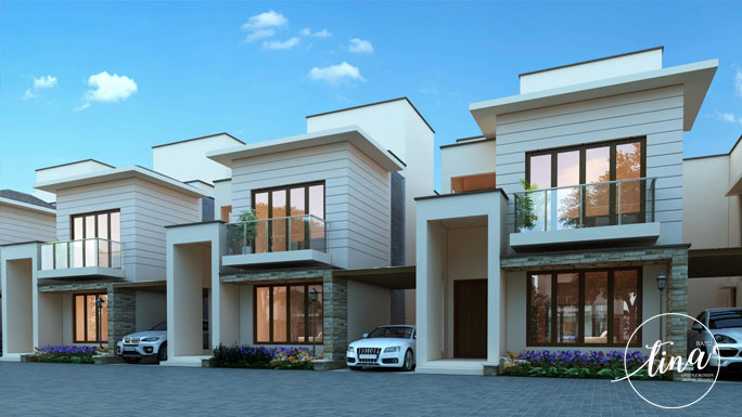 Luxury villa property, dream home in Bangalore