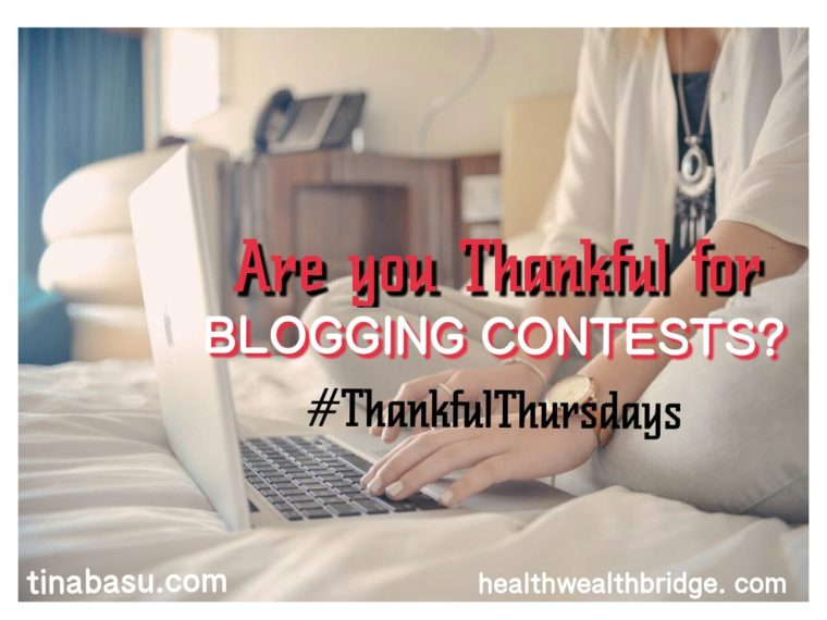 blogging contests thankful thursdays