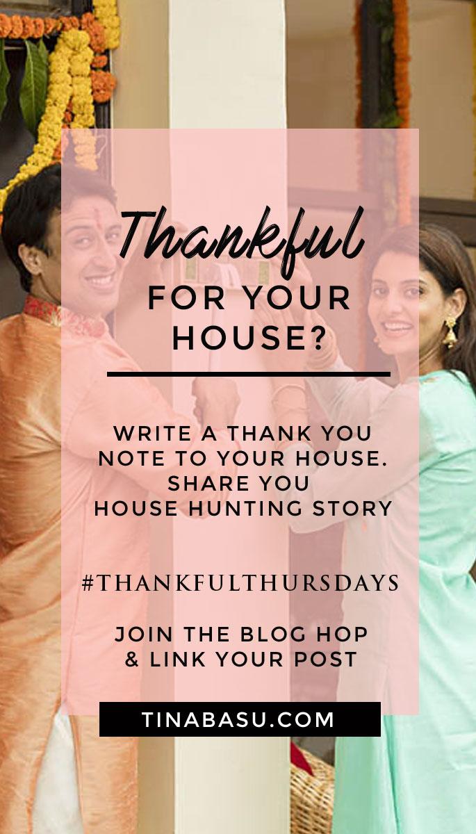 apartments in Bangalore, ThankfulThursdays