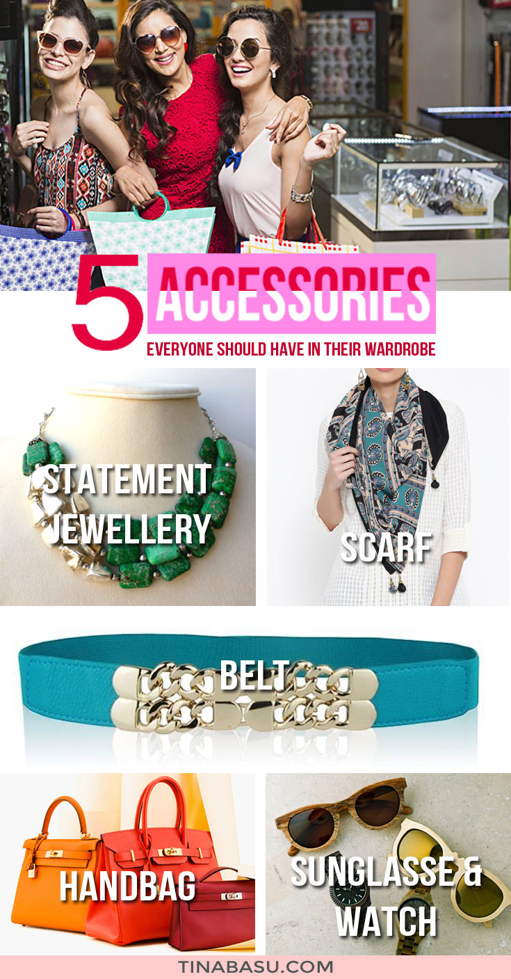 should have accessories for women