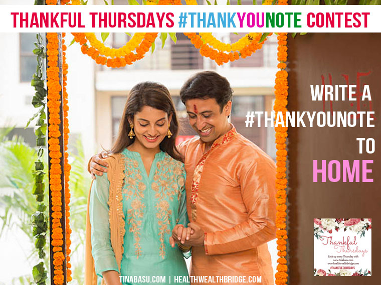thank you home #ThankfulThursday #ThankYouNote contest
