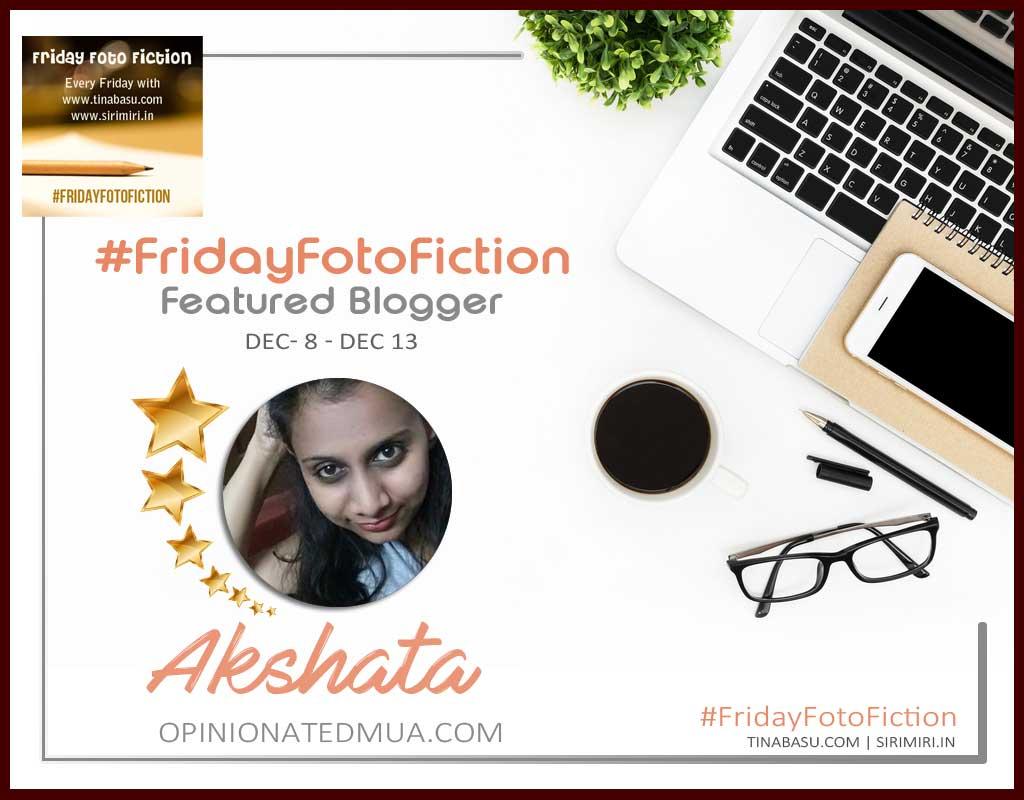#fridayFotoFiction featured blogger