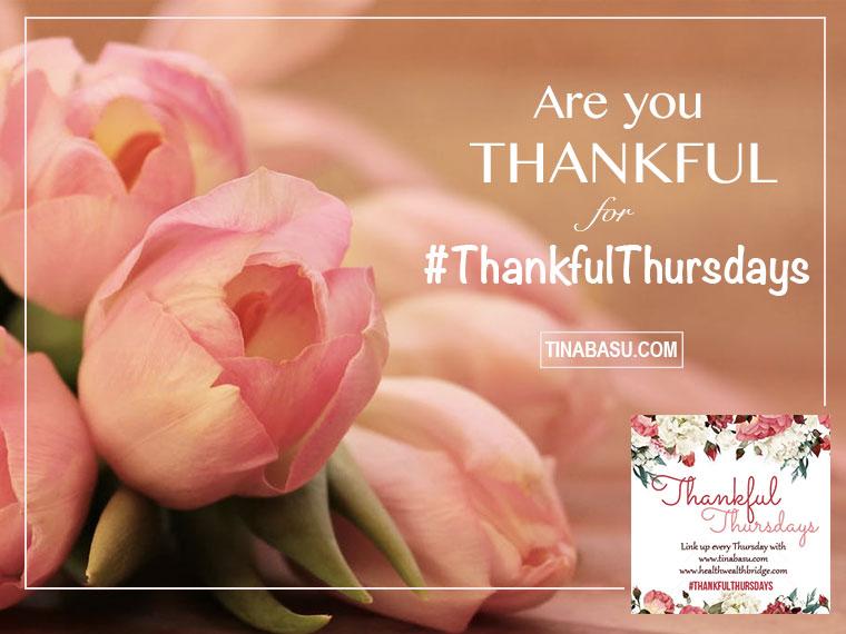 Thankful for #ThankfulThursdays