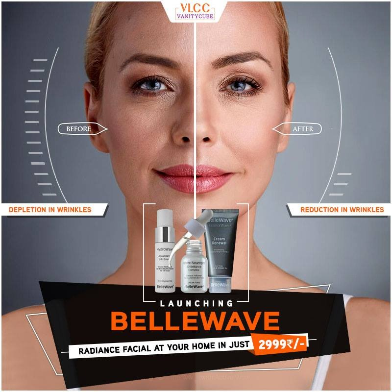vlcc vanity cube bellewave facial salon at home