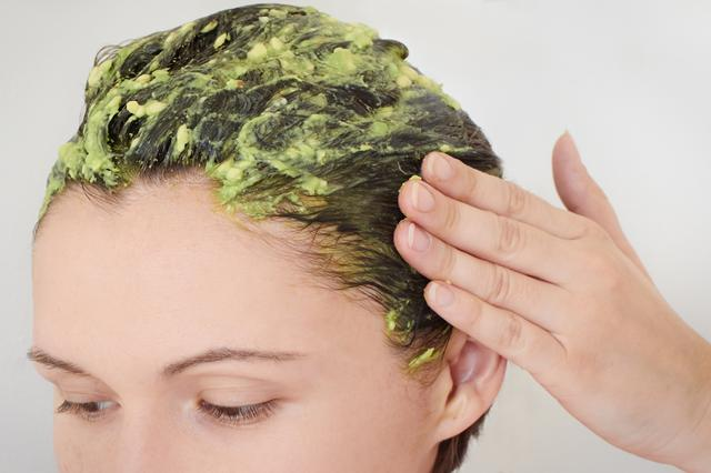 yogurt and avocado nourishing hair pack post holi hair care