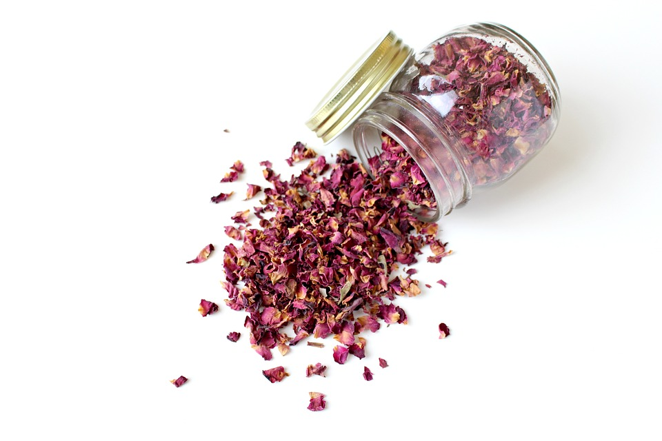 Organic Holi Colors for babies Rose petals