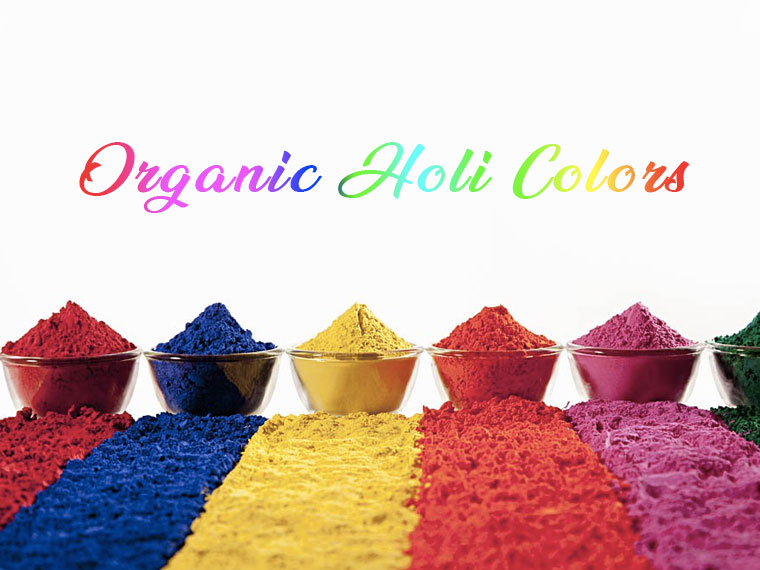 Organic Holi Colors for babies
