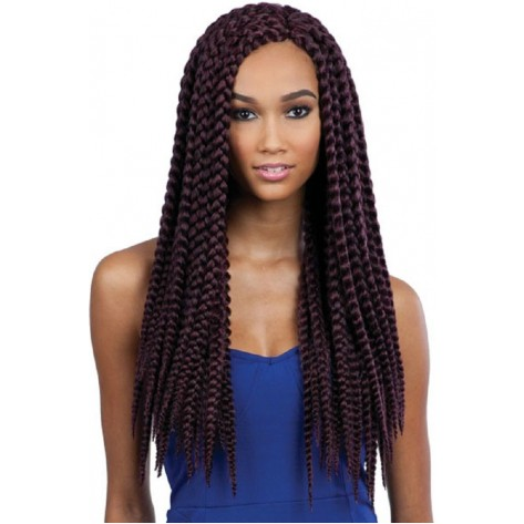 types of hair braids - jumbo box braids