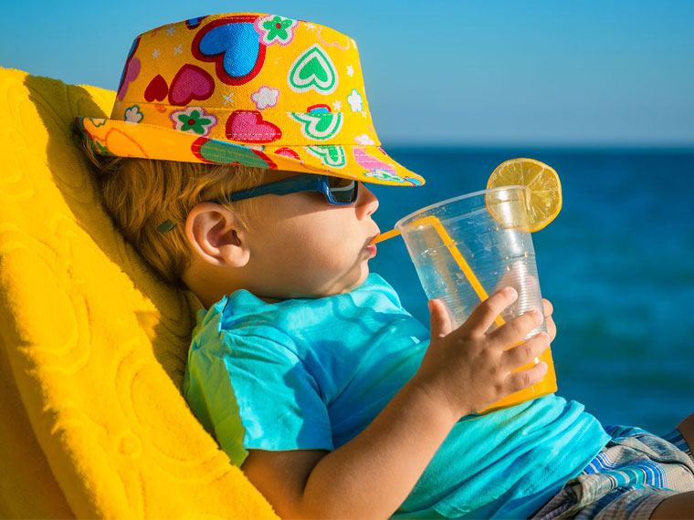 summer skin care tips for kids - keep them covered
