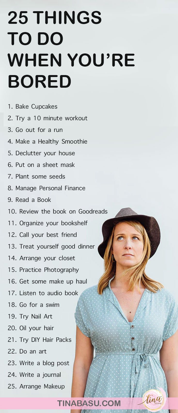 25 things to do when you are bored