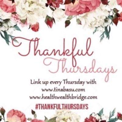 #ThankfulThursdays