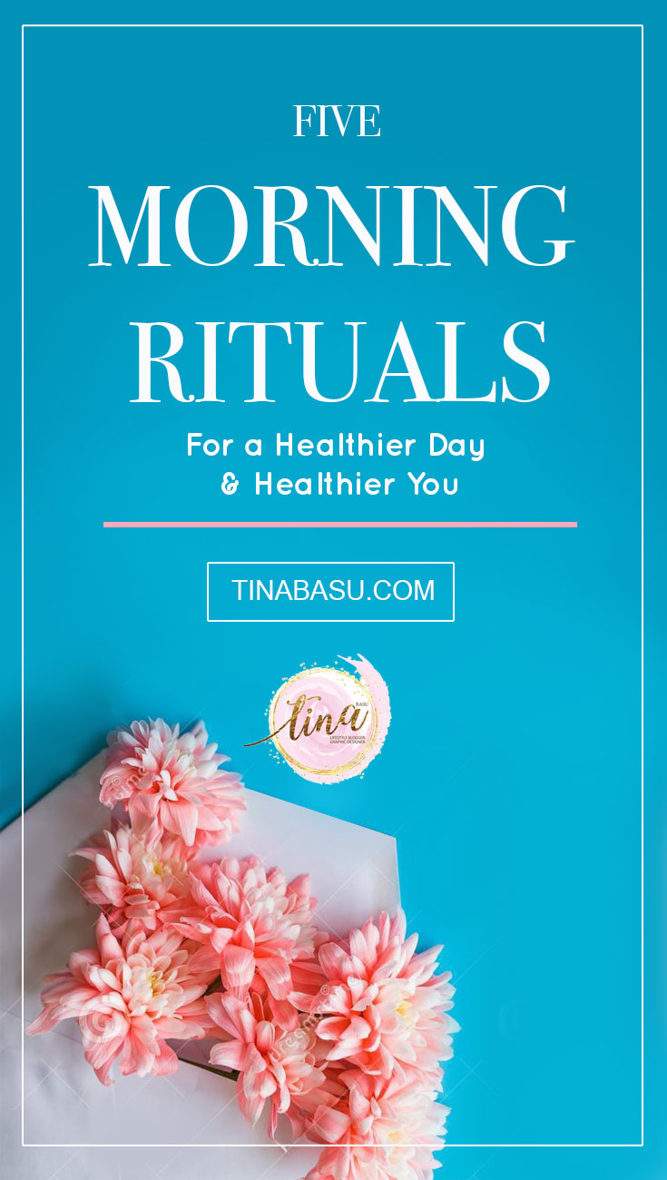 morning rituals for healthier day