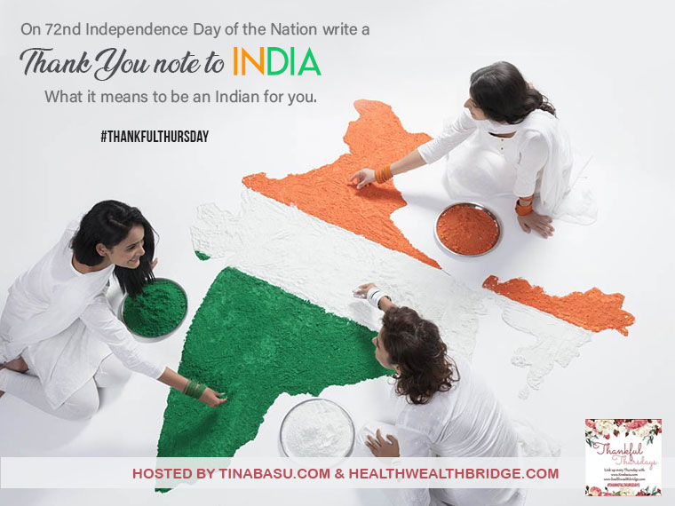 thankful to be living in india thankful to india #ThankfulThursdays