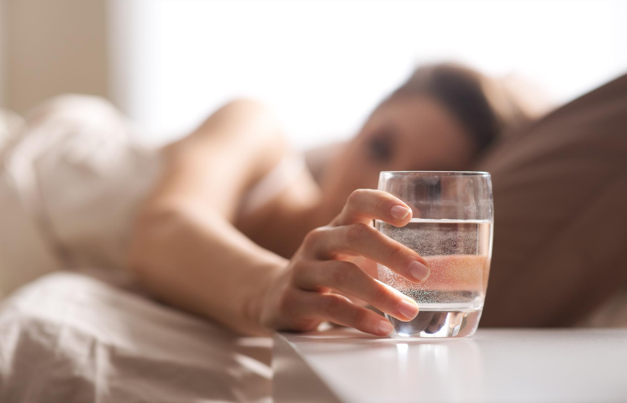 morning rituals for a healthier day - water first thing in the morning