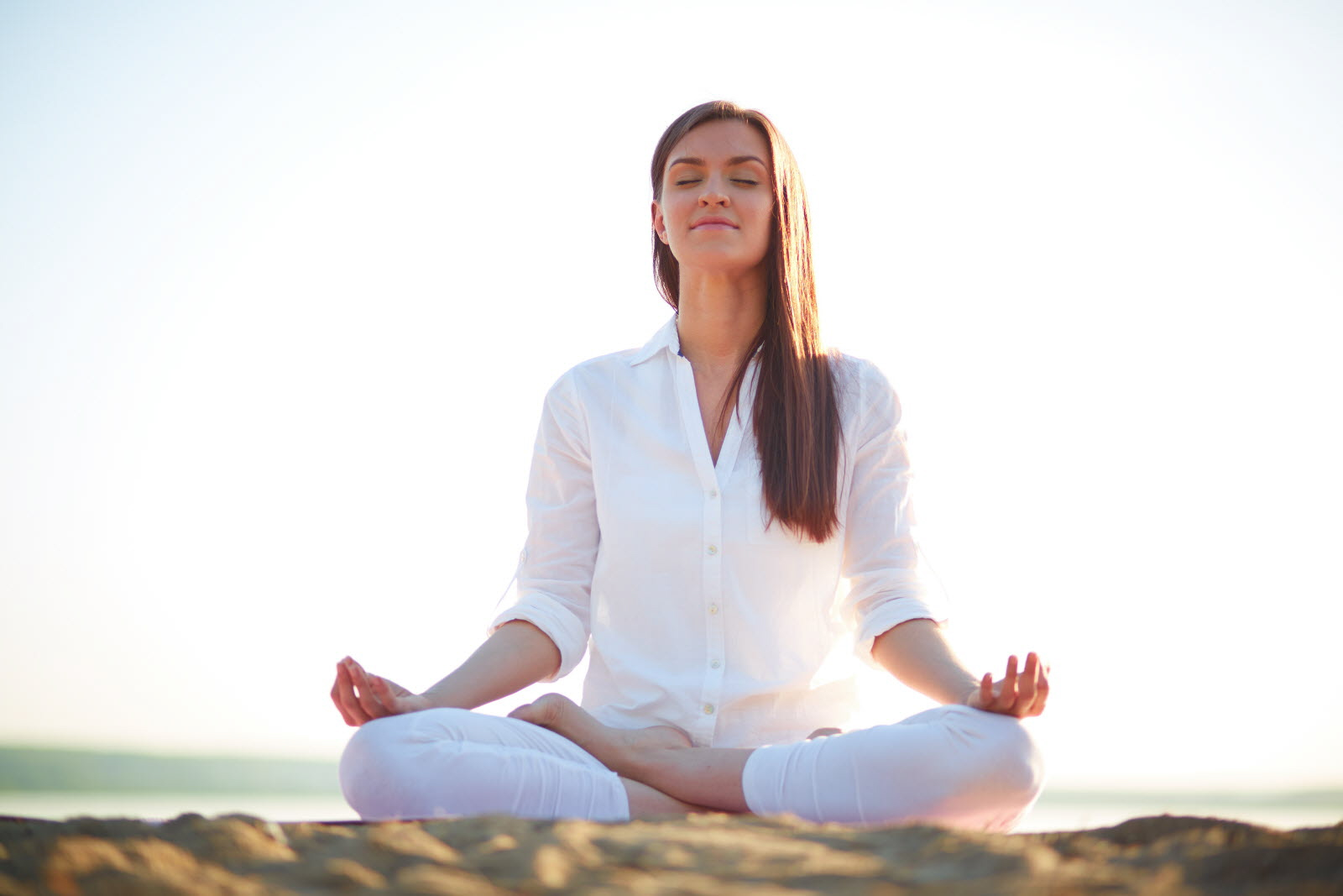ways to manage stress - meditation