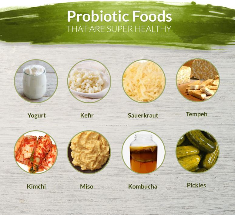 food that contain probiotics