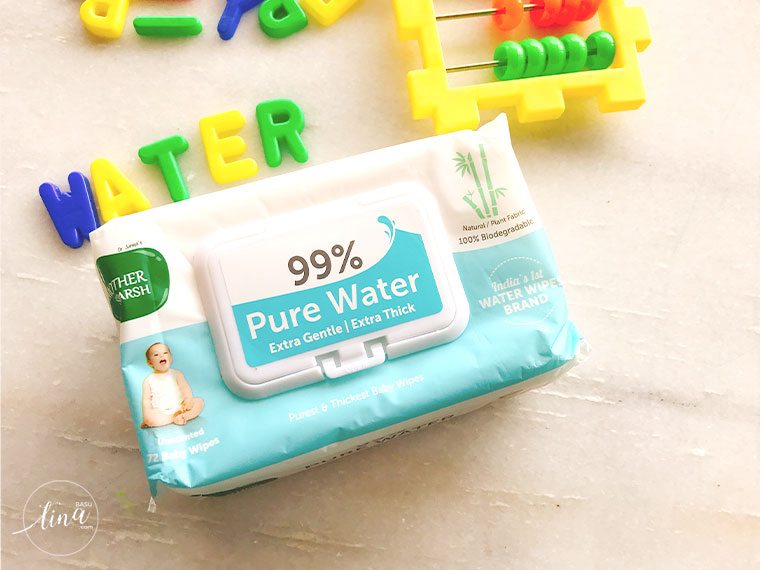 Mother Sparsh 99% water wipes
