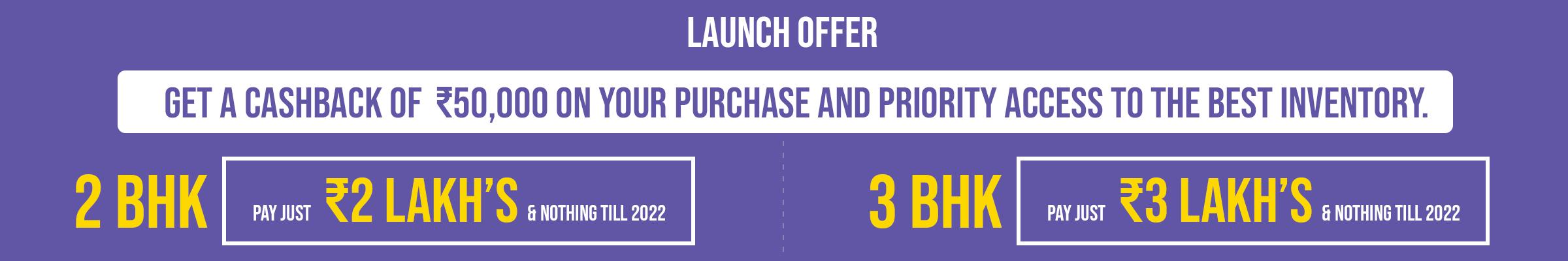 shriram codename breakfree launch offer