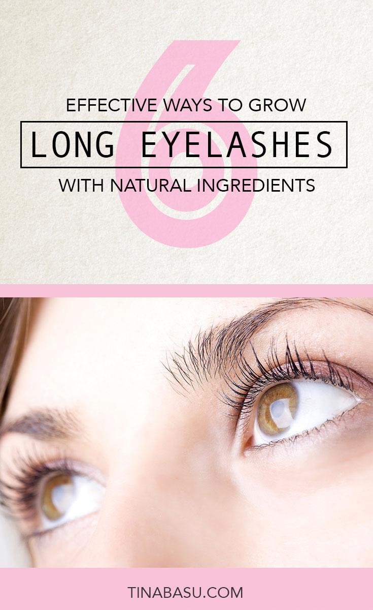 How to Grow Long Eyelashes naturally #DIY #Beauty