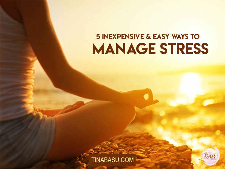 ways to manage stress